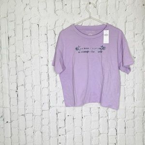 American Eagle We have the power crop top NWT